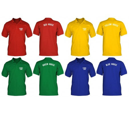 SPORTS SHIRTS - HOUSE COLOURS
